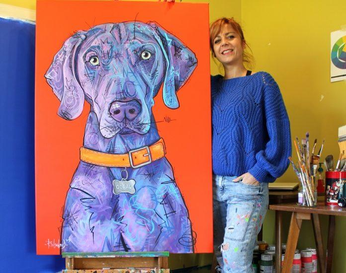 Dog Artist Romina De Gregorio